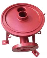 Ruby Red Fluoropolymer