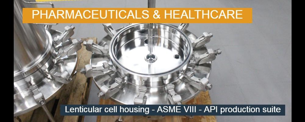 Lenticular Cell Housing